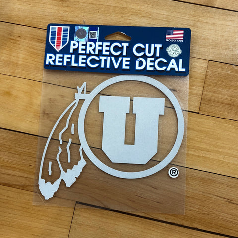 Utah Reflective Decal 6x6 - Utah Sports Collective