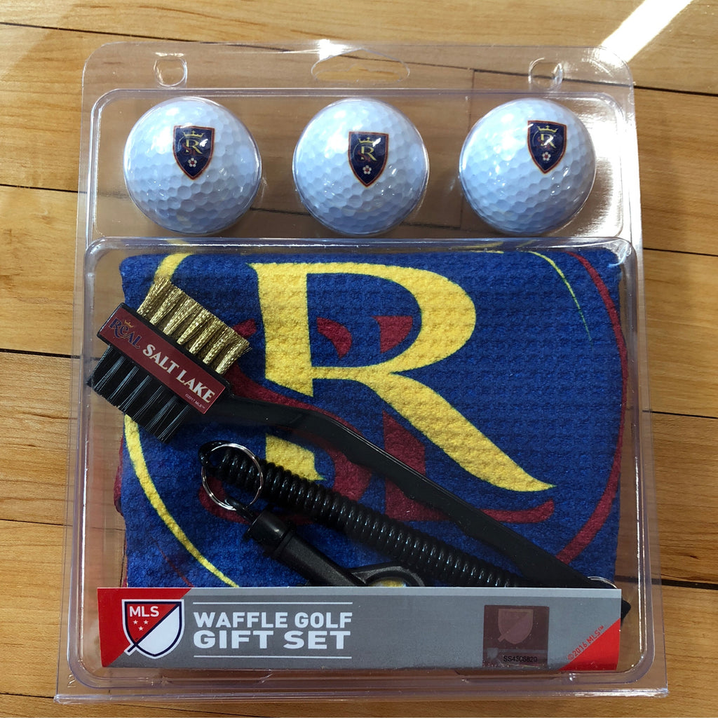 RSL Waffle Golf Gift Set - Utah Sports Collective