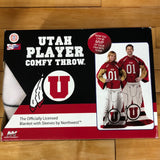 Utah Player Comfy Throw - Utah Sports Collective