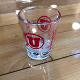 Utah GMD Shot Glass - Utah Sports Collective