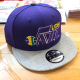 Jazz Purple Throwback Snap - Utah Sports Collective