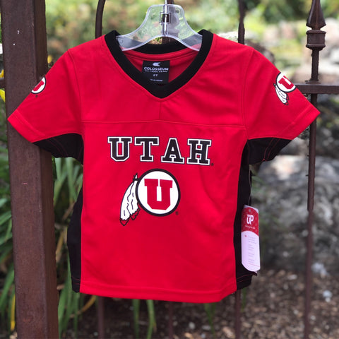 Utah Colosseum Toddler Max Power Football Jersey - Utah Sports Collective