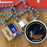 Jazz Sport Beads With Medallion - Utah Sports Collective