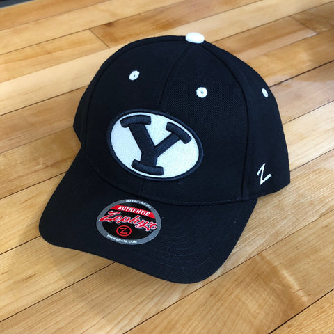 BYU Zephyr hat competitor Y Oval Navy SnapBack - Utah Sports Collective