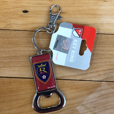 Real Salt Lake Bottle Opener Keychain - Utah Sports Collective