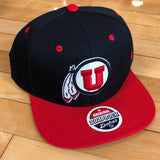 Utah Z11 Blk/Rd Snapback - Utah Sports Collective