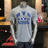 BYU Men's Grey Property Of Tee - Utah Sports Collective