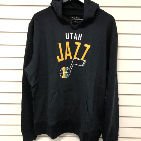Jazz Outrush Navy Hoodie - Utah Sports Collective