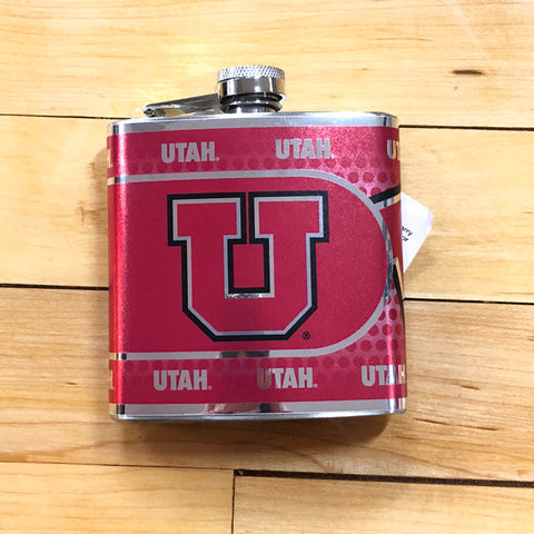 Utah Metallic Flask - Utah Sports Collective