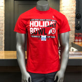 Utah Blue84 Men's Red Holiday Bowl Tee - Utah Sports Collective