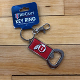Utah Red DF Bottle Opener Key Chain - Utah Sports Collective