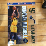 Jazz Donovan Mitchell Multi Decal - Utah Sports Collective