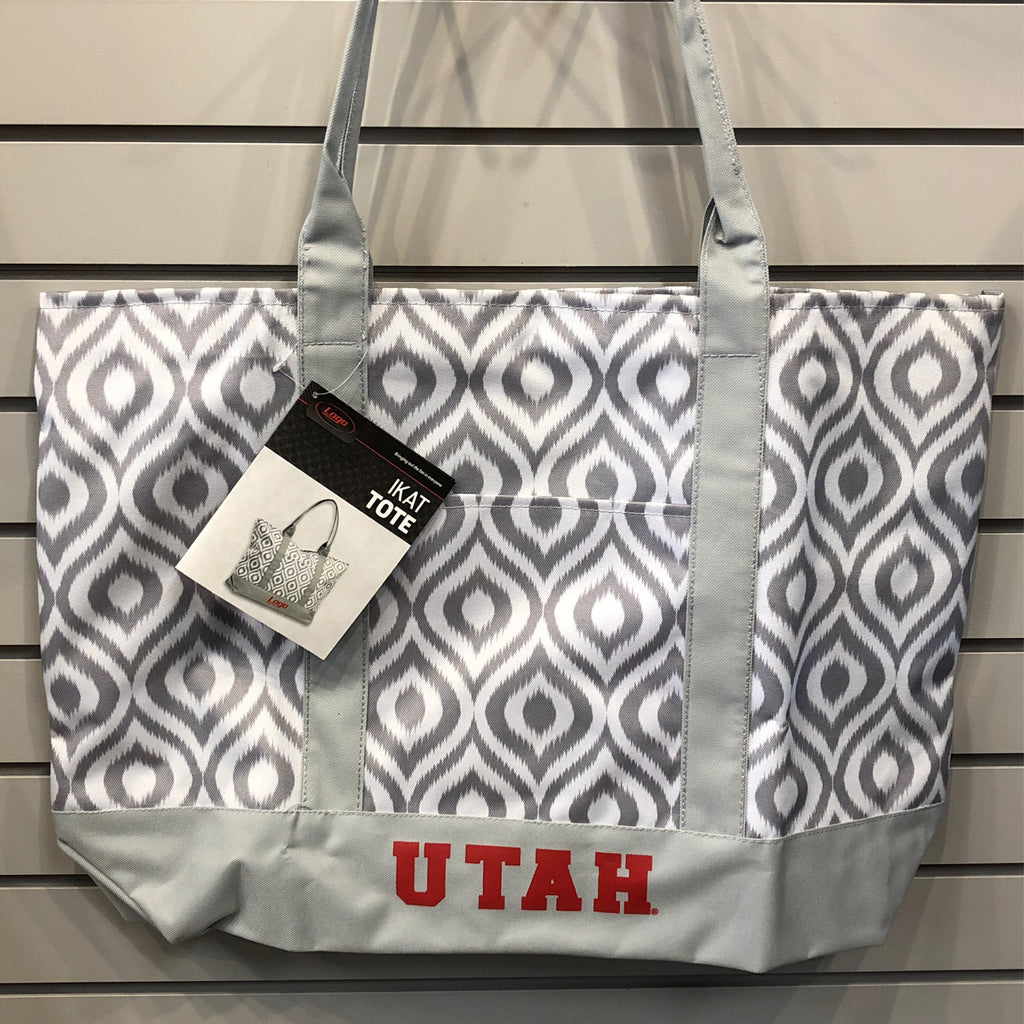Utah Ikat Tote - Utah Sports Collective