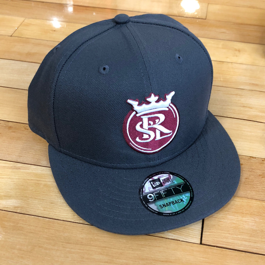 RSL New Era 950 hat graphite SnapBack - Utah Sports Collective