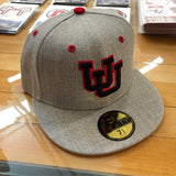 Utah UU Heather Grey Fitted