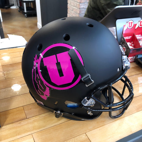 Utah Full Sized Replica Helmet Pink DF - Utah Sports Collective