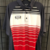 Utah 125 Year Stripe Polo - Utah Sports Collective