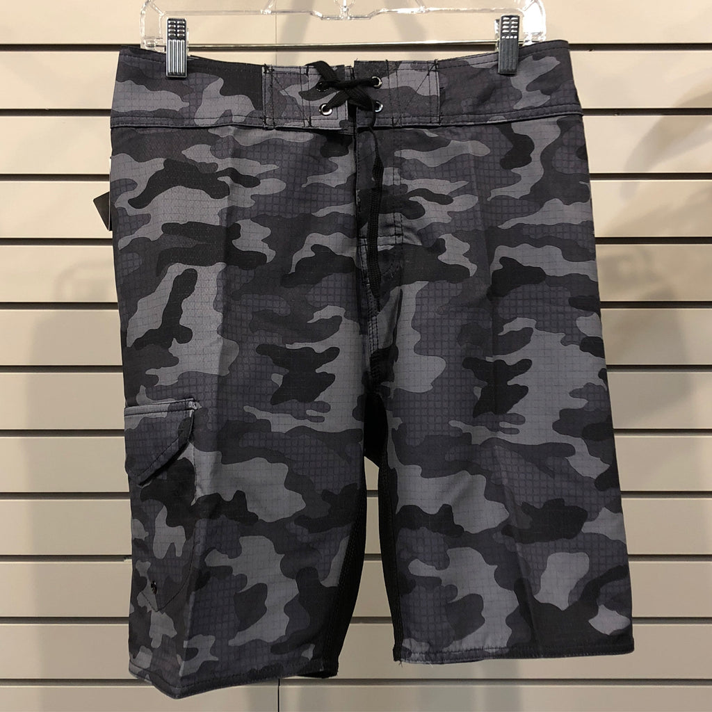 Utah NL Men's Board Short Blk Camo - Utah Sports Collective
