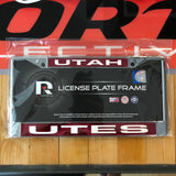 Utah Red Laser Chrome Frame - Utah Sports Collective