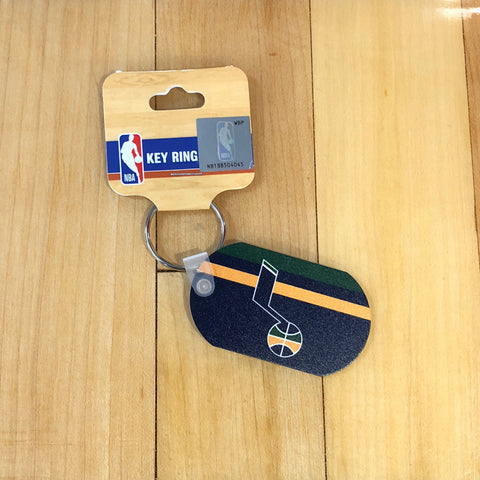 Jazz Metal Keyring - Utah Sports Collective