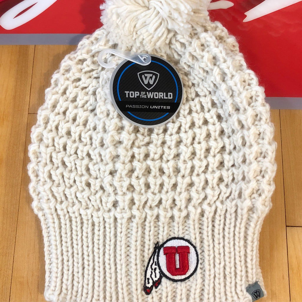 Utah Slouch Uncuffed Knit - Utah Sports Collective
