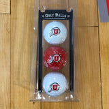 Utah Golf Ball 3 Pack - Utah Sports Collective