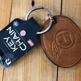Utah Leather Keychain - Utah Sports Collective