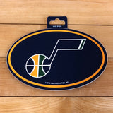 Jazz Oval Decal - Utah Sports Collective