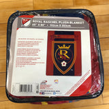RSL Plush Raschel Blanket - Utah Sports Collective