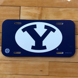 BYU License Plate Tag - Utah Sports Collective