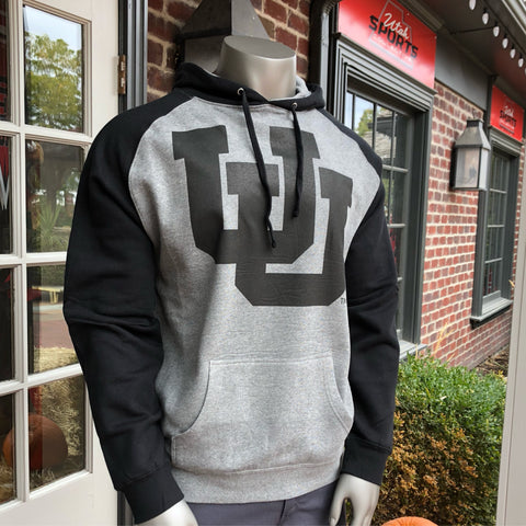 Utah Raglan UU Hoodie - Utah Sports Collective