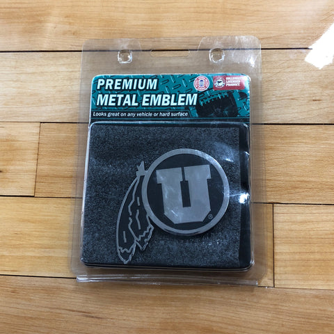 Utah Premium Metal Emblem - Utah Sports Collective