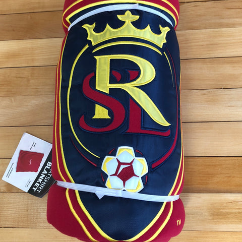 RSL Sweatshirt Blanket - Utah Sports Collective