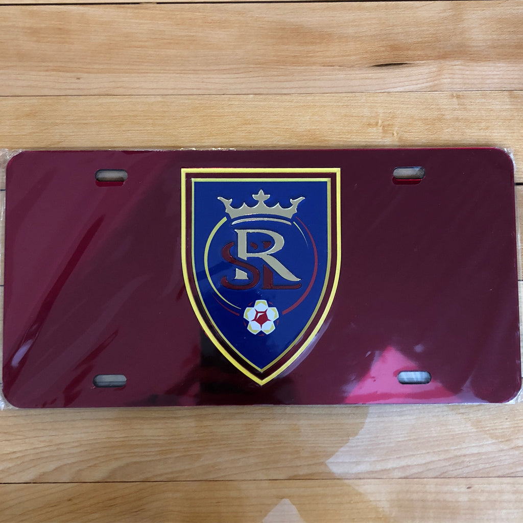 RSL License Plate Insert - Utah Sports Collective