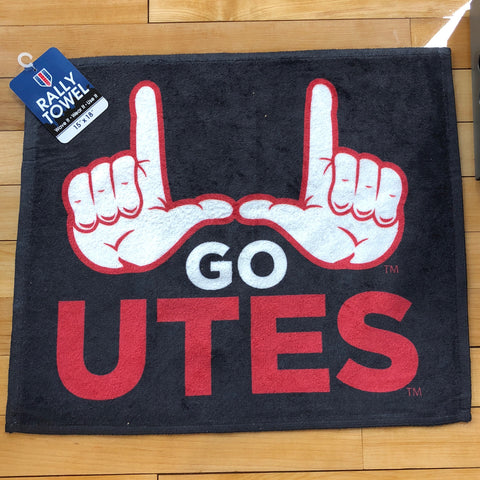 Utah Go Utes Rally Towel - Utah Sports Collective