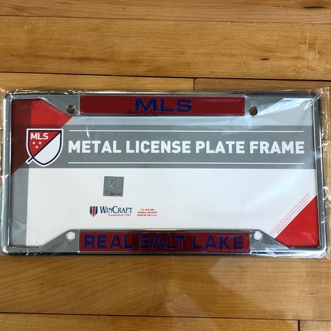 Real Salt Lake Metal LP Frame - Utah Sports Collective