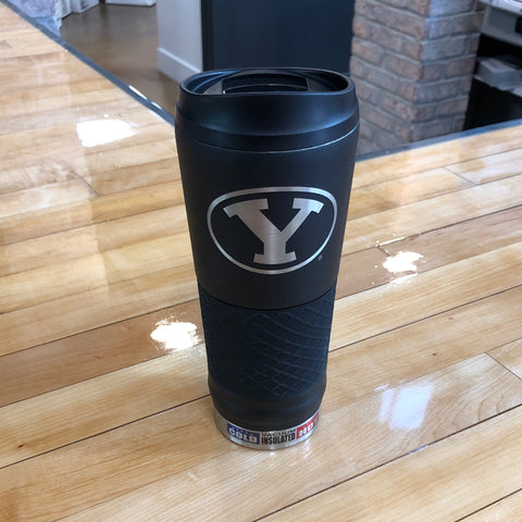 BYU Black Laser Cut - Utah Sports Collective