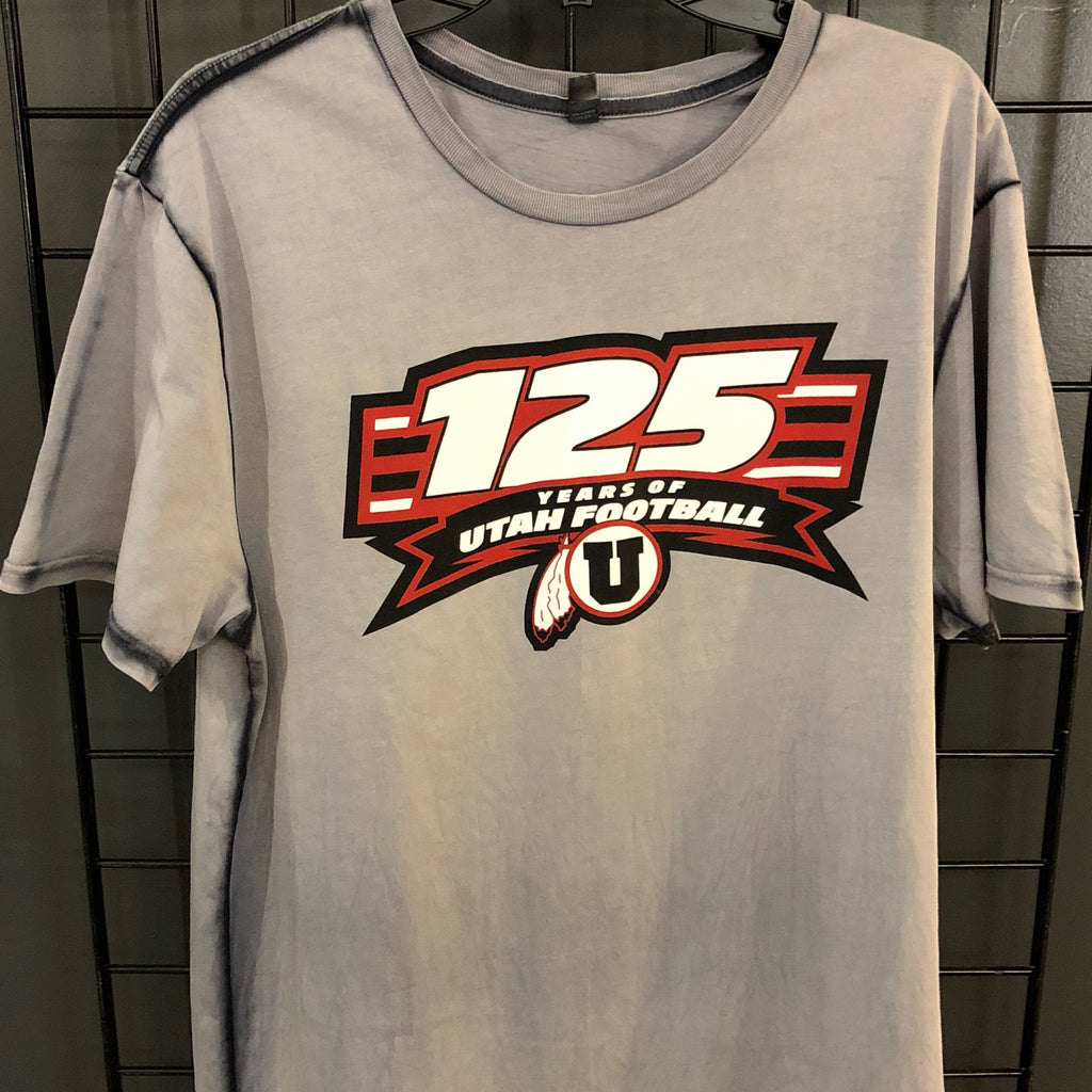 Utah 125 year Distressed T shirt - Utah Sports Collective