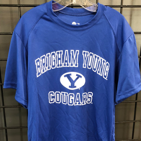 BYU Badger Sport Blue Core Youth Tee - Utah Sports Collective
