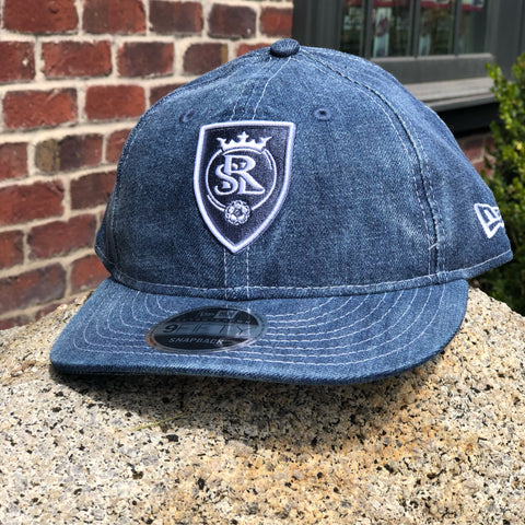 RSL New Era 950 Denim Drift Hat - Utah Sports Collective