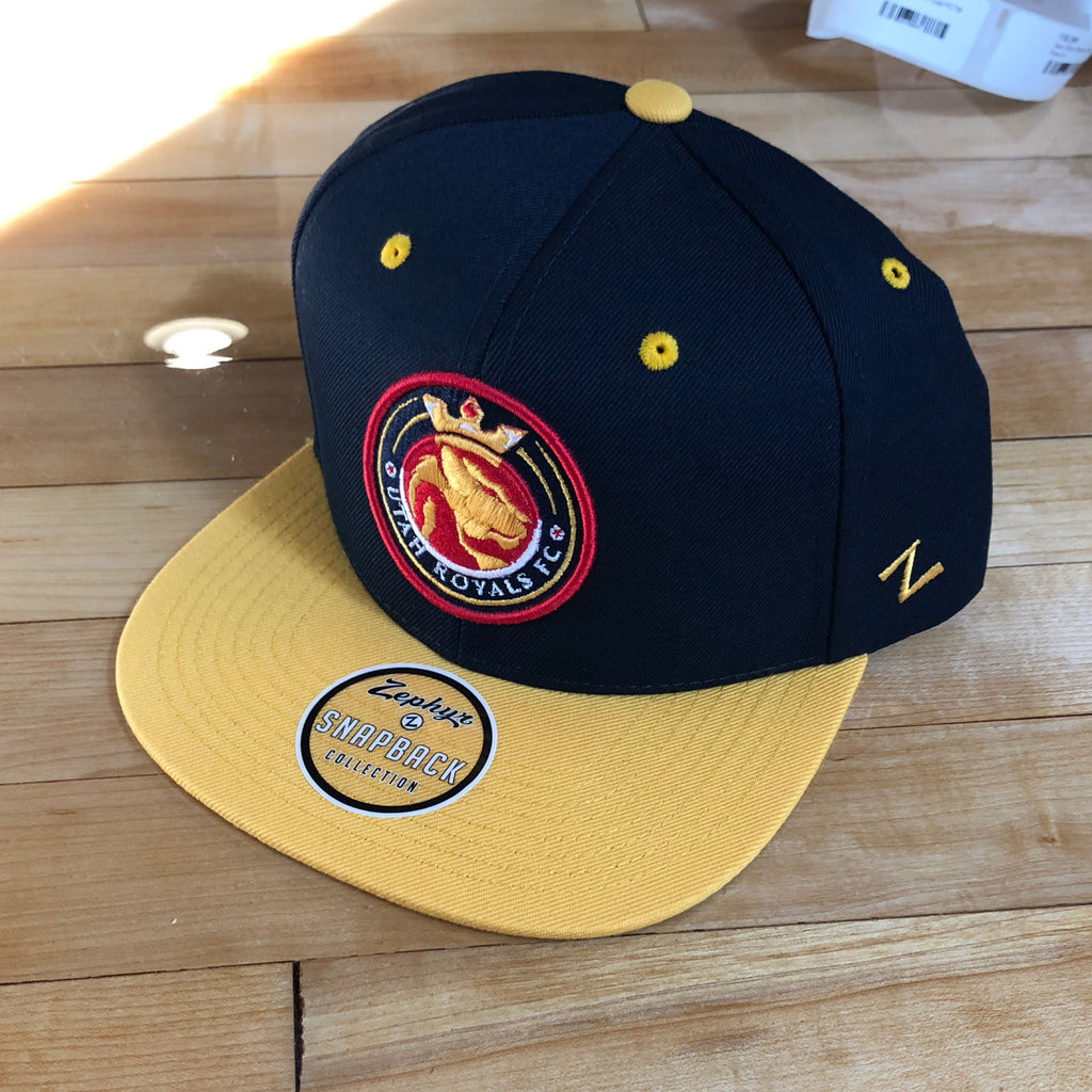 Royals Zephyr hat Z11 Navy/yellow Snapback - Utah Sports Collective