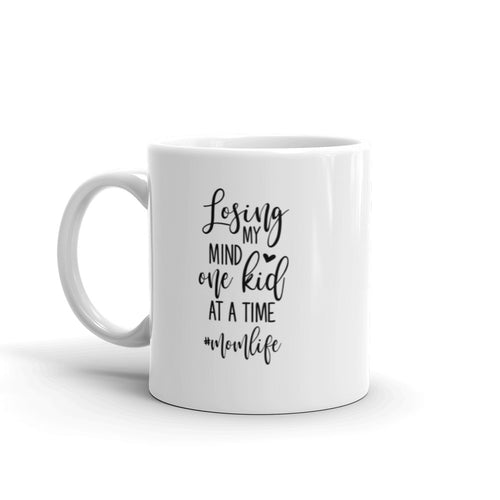 Losing My Mind One Kid At A Time # Momlife Ceramic Mug