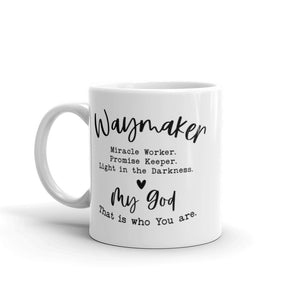 Waymaker My God Ceramic Mug