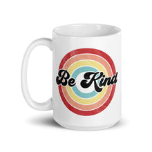 Load image into Gallery viewer, Be Kind Retro Distressed Ceramic Mug