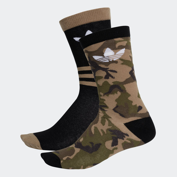 Adidas Chaussettes Camouflage mi-mollet (2 paires)