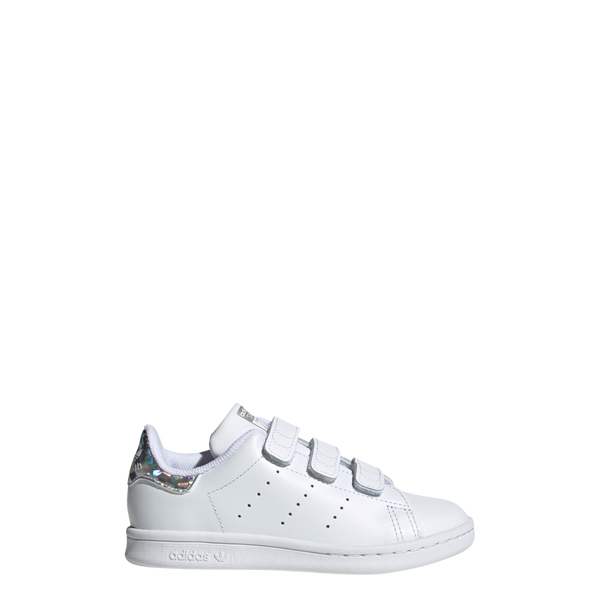 Stan Smith Cadet scratch argent