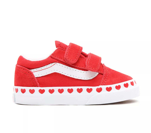 Vans Old Skool Bébé rouge