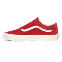 Vans Old Skool Pig Suede rouge