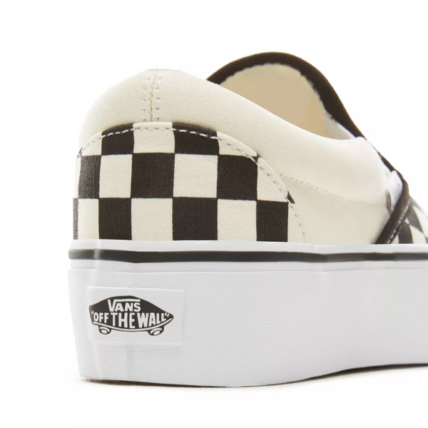 Vans Slip-on Checkerboard Platform