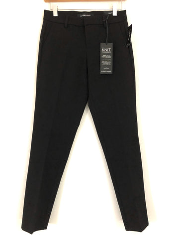 "Liverpool Black Kelsey Knit Trouser NWT- Size 0 (Inseam 28.5"")"